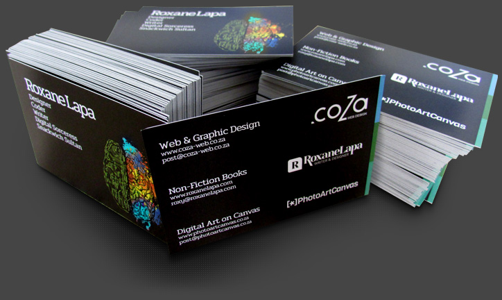 Coza web design quality business card design website design a business card isnt just a piece of paper with your logo and contact details onor at least it shouldnt be reheart Choice Image