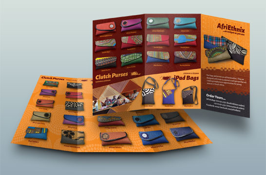 coza web design quality brochure and flyer design